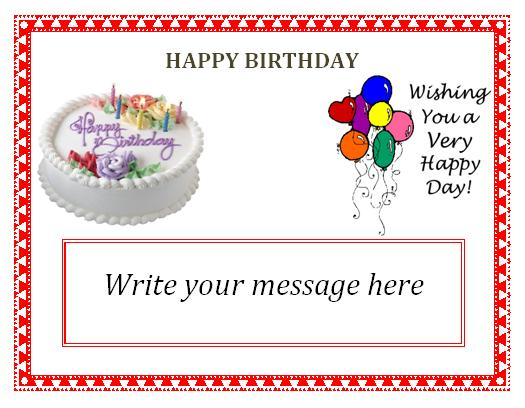 Birthday Invitation Writable Template Orderecigsjuiceinfo - Blank birthday invitation card templates
