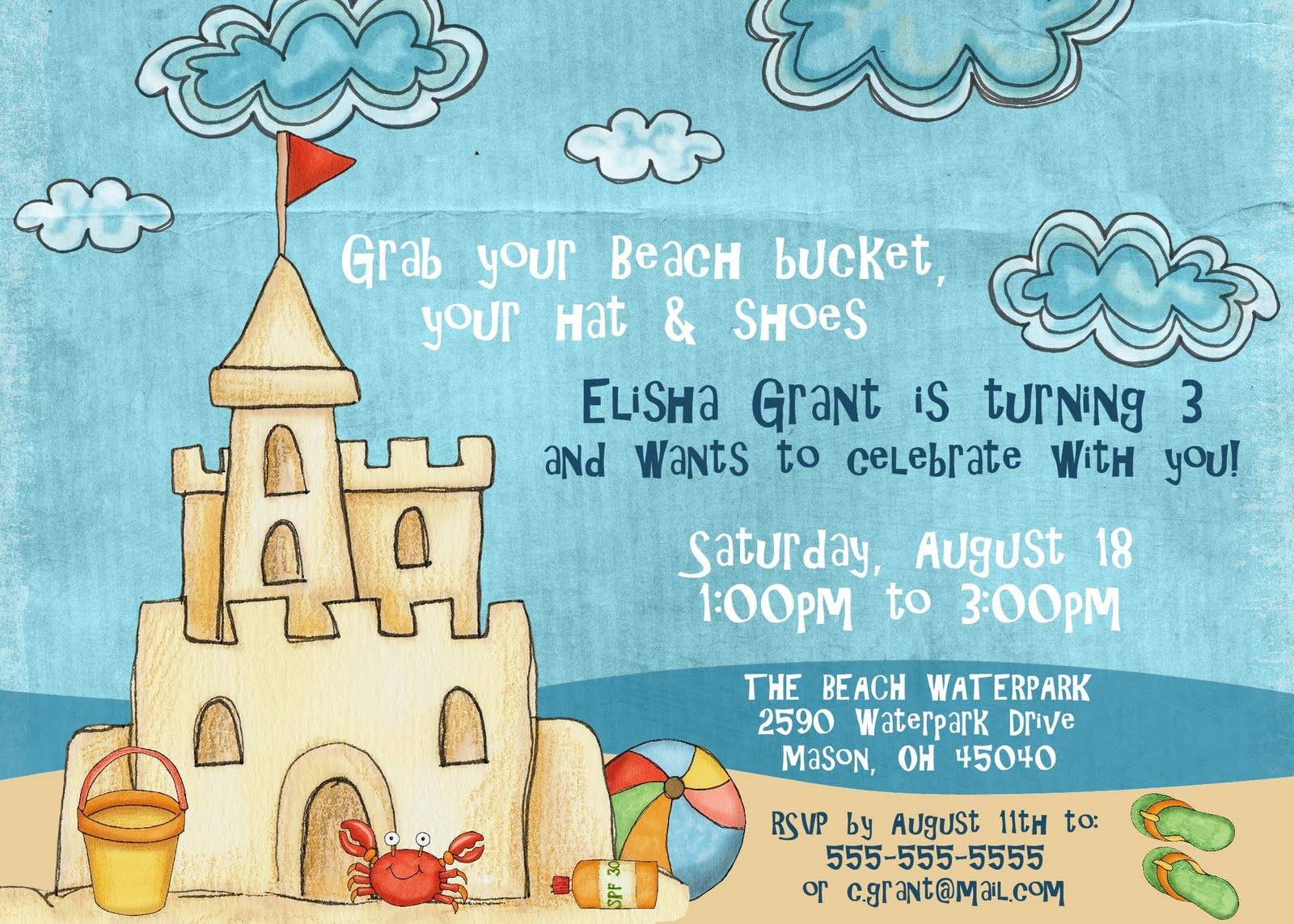 Birthday Party Invitation Template Word 2003