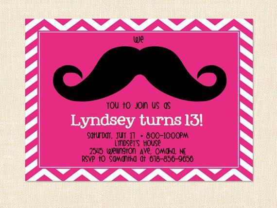 Birthday Printable Invitation Templates Teens