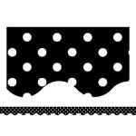 Black And White Borders For Bulletin Boards
