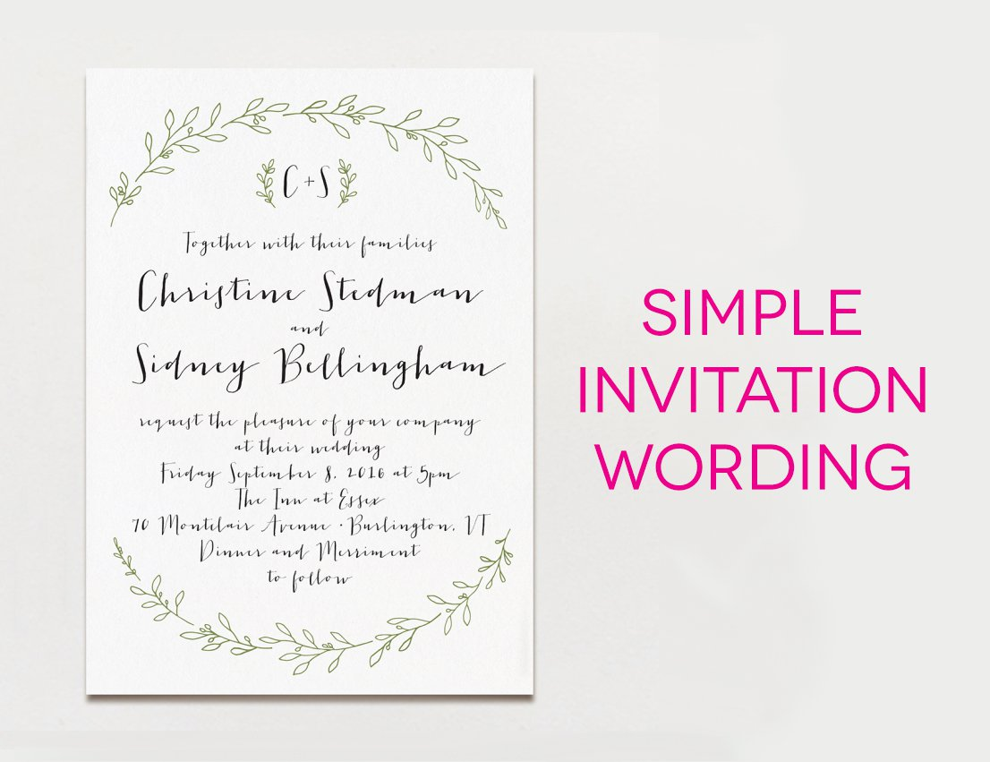 Black And White Party Invitation Sayings