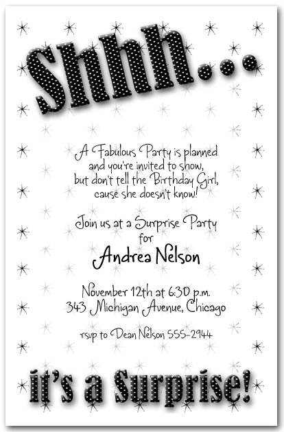 Black And White Wedding Invitations Party City