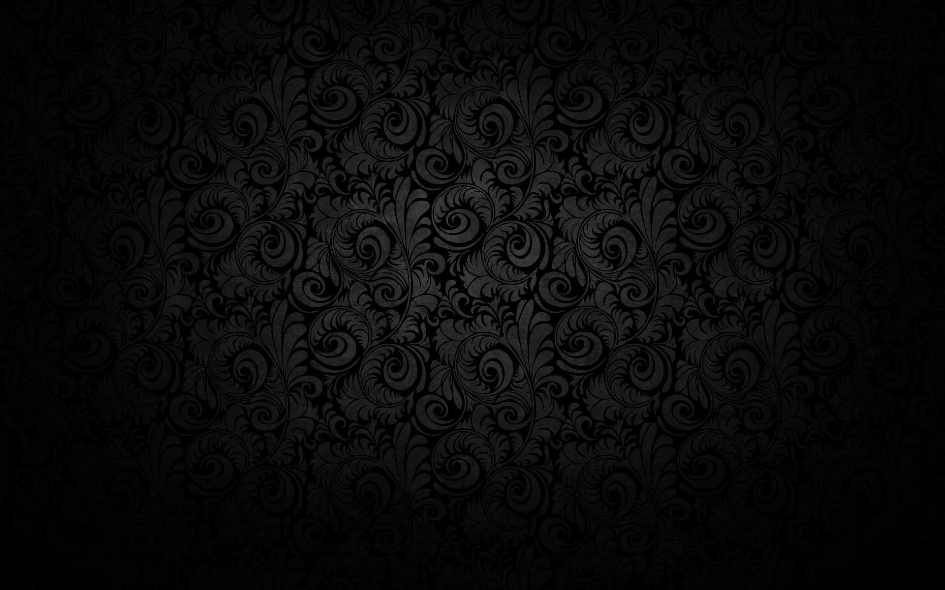Black Invitation Background