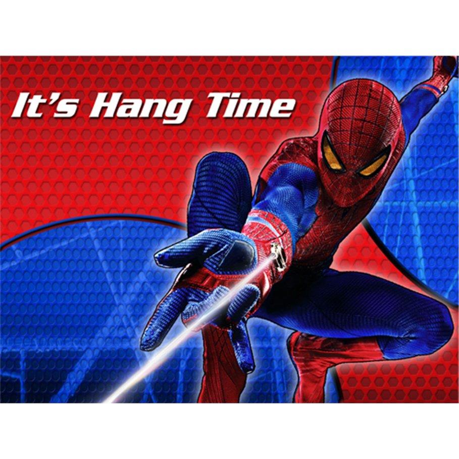 Black Spider-man Invitations