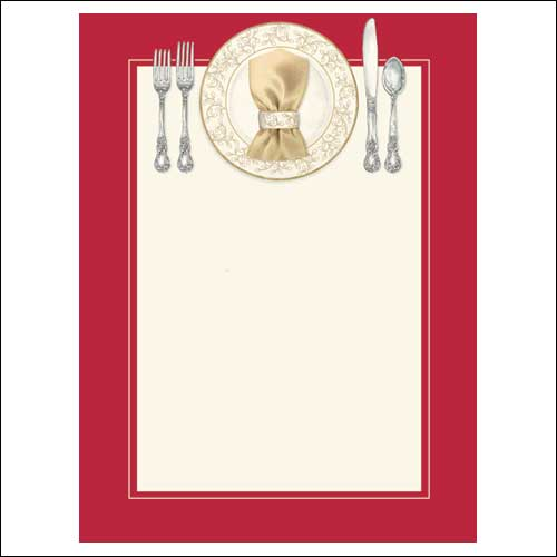 blank christmas dinner invitations. Black Bedroom Furniture Sets. Home Design Ideas