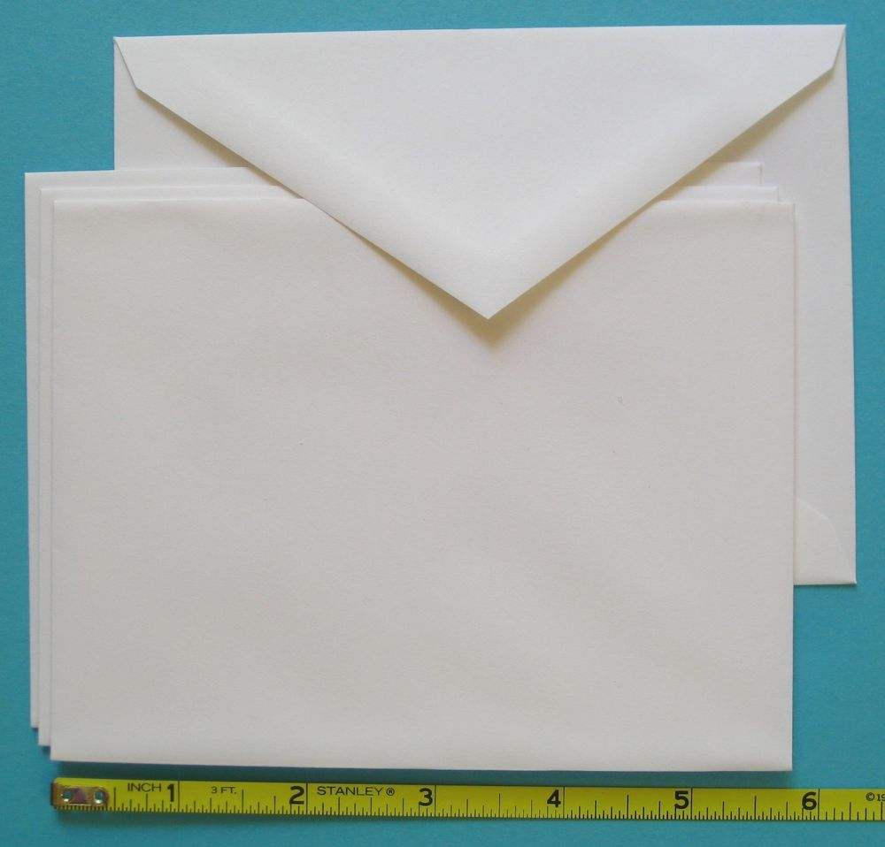 Blank Invitation Cards And Envelopes