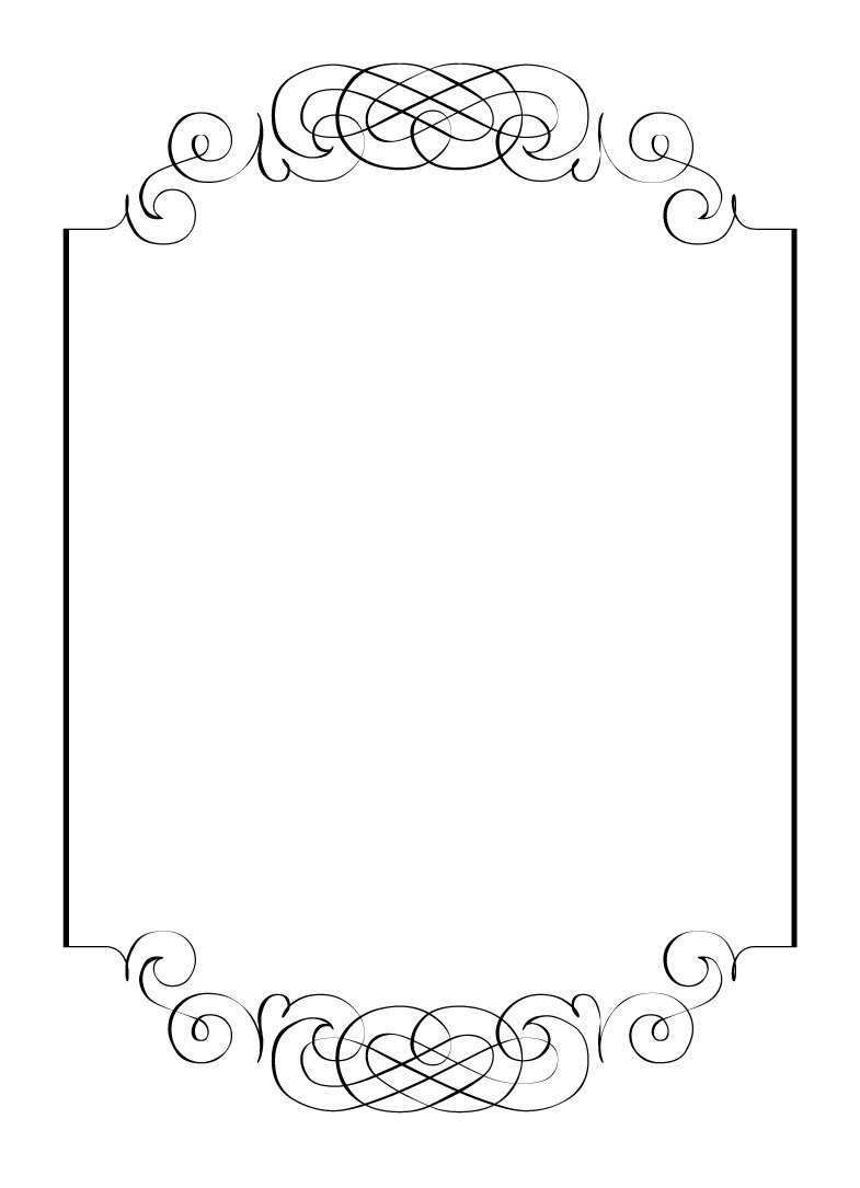 Blank Invitation Designs