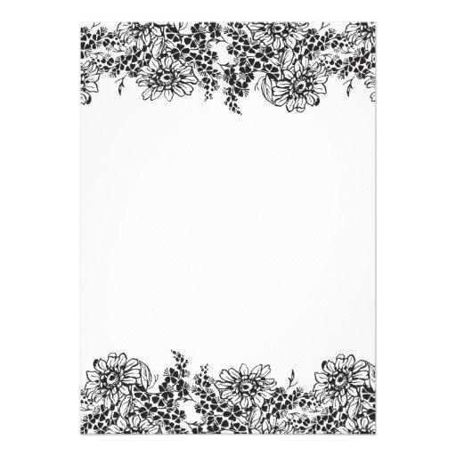 Blank Printable Wedding Invitations Free