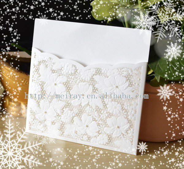 Blank Wedding Invitation Paper And Envelopes