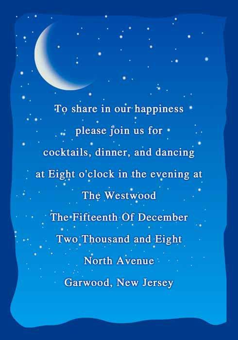 Blue Moon Invitations