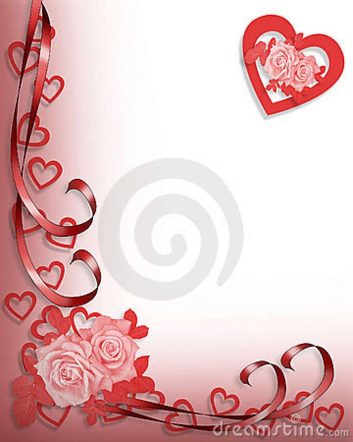 Wedding Invitation Card Red Background Design Matik for – Invitation Card Border Design