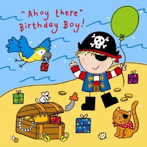 Boy Birthday Party Cards