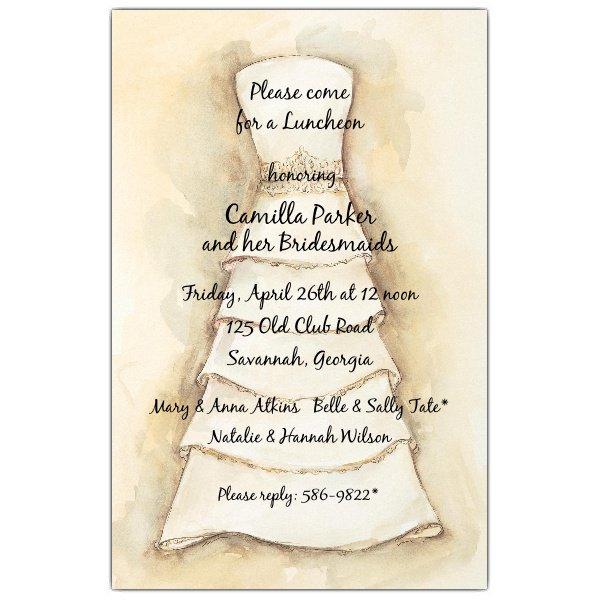 Bridal Brunch Invitation Wording