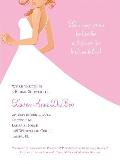 bridal brunch invitations wording