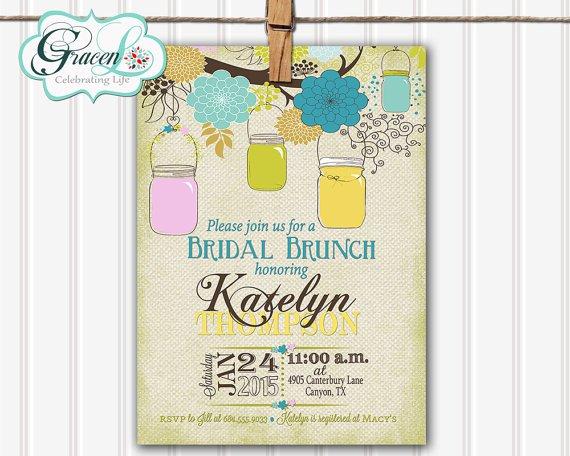 Bridal Luncheon Invitations Etsy