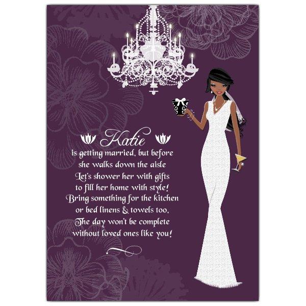 Bridal Shower Invitation Wording Wishing Well