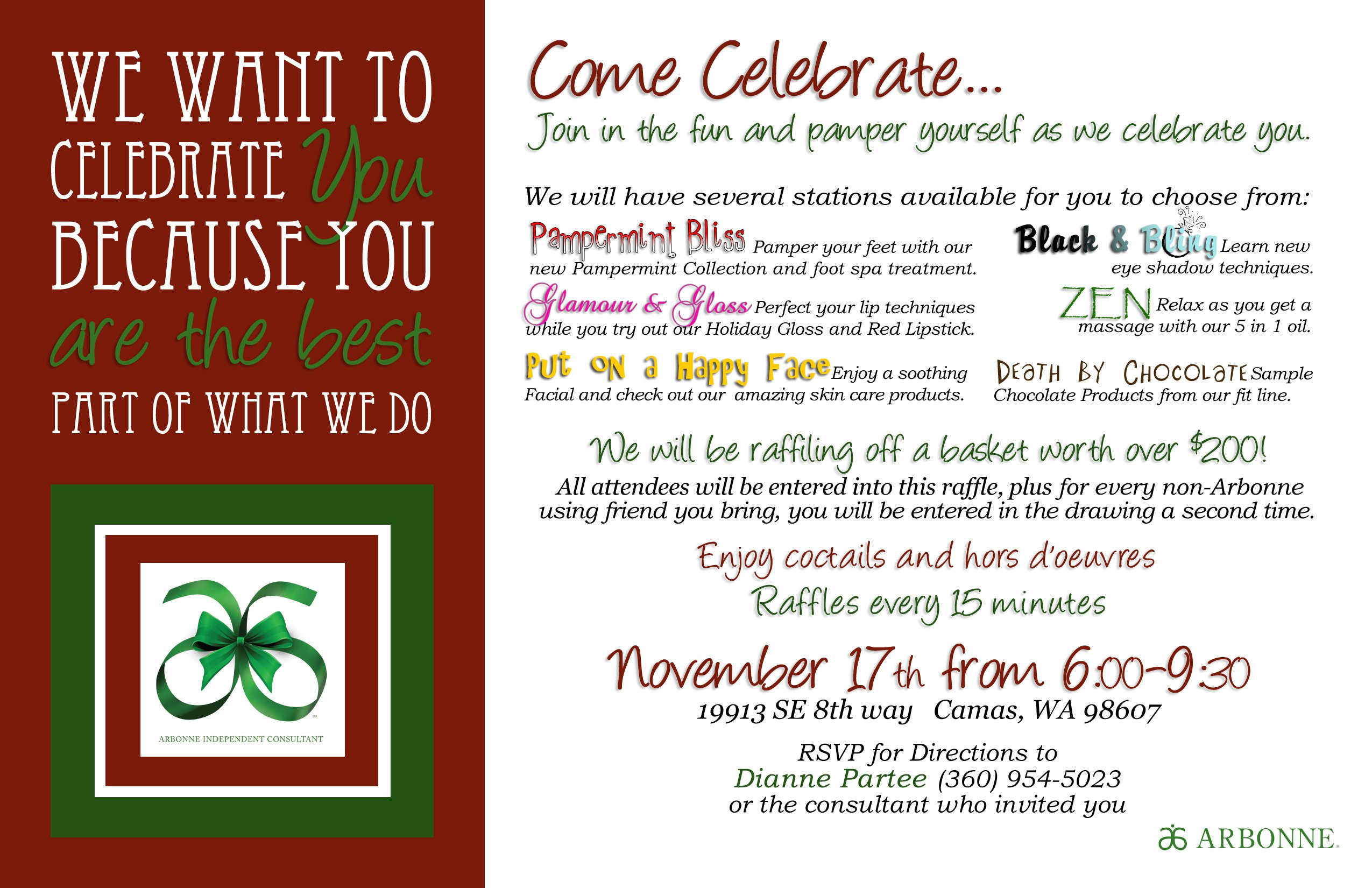 Business Christmas Party Invitation Templates