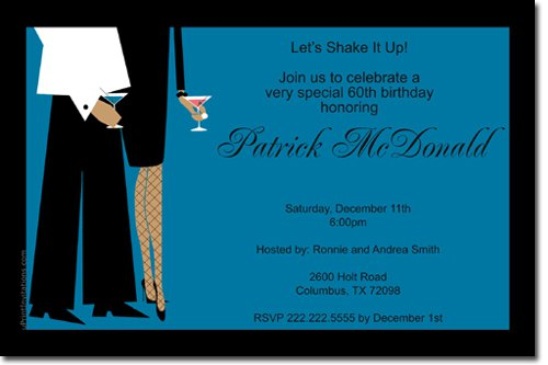 Business Cocktail Reception Invitation
