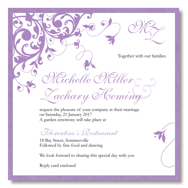 Business Event Invitations Templates