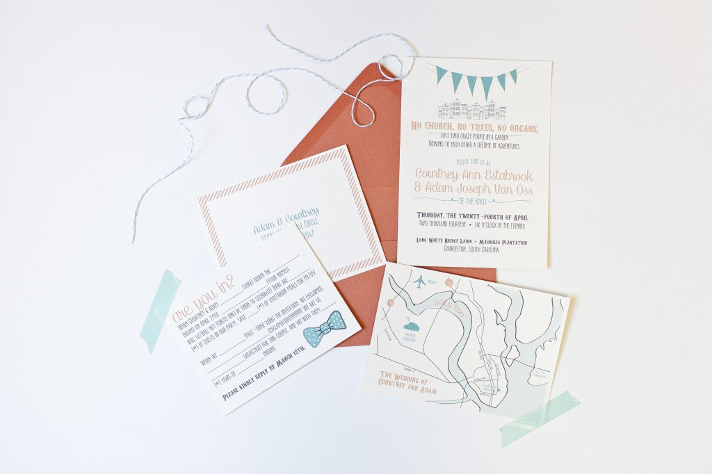 Casual Picnic Wedding Invitation Wording