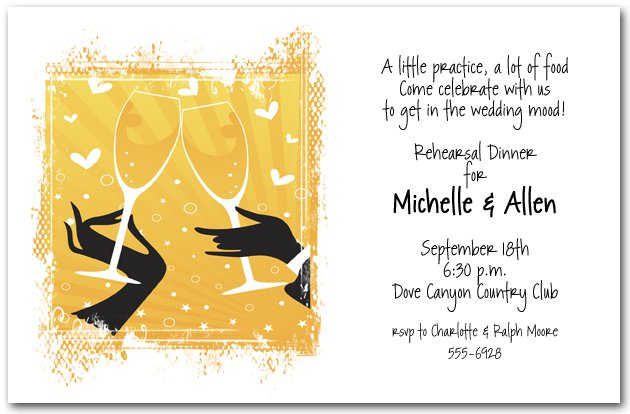 Party Invitations – Champagne Party Invitations