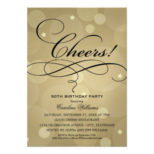 Champagne Party Invitations Free