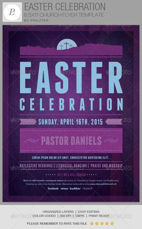 Church Celebration Flyers