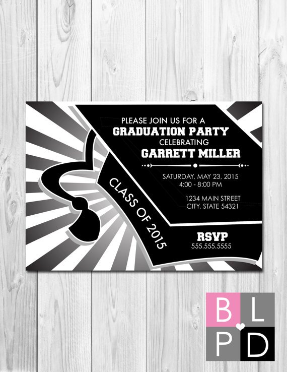 Class Of 2015 Graduation Party Invitations