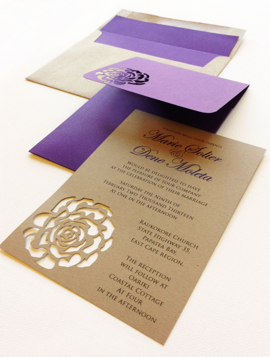 Clever Wedding Invitations