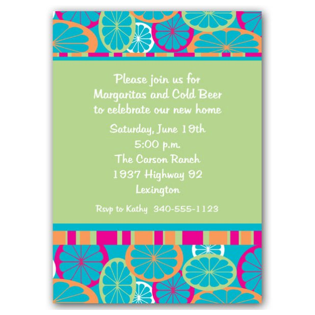 Cocktail Party Invitations Printable