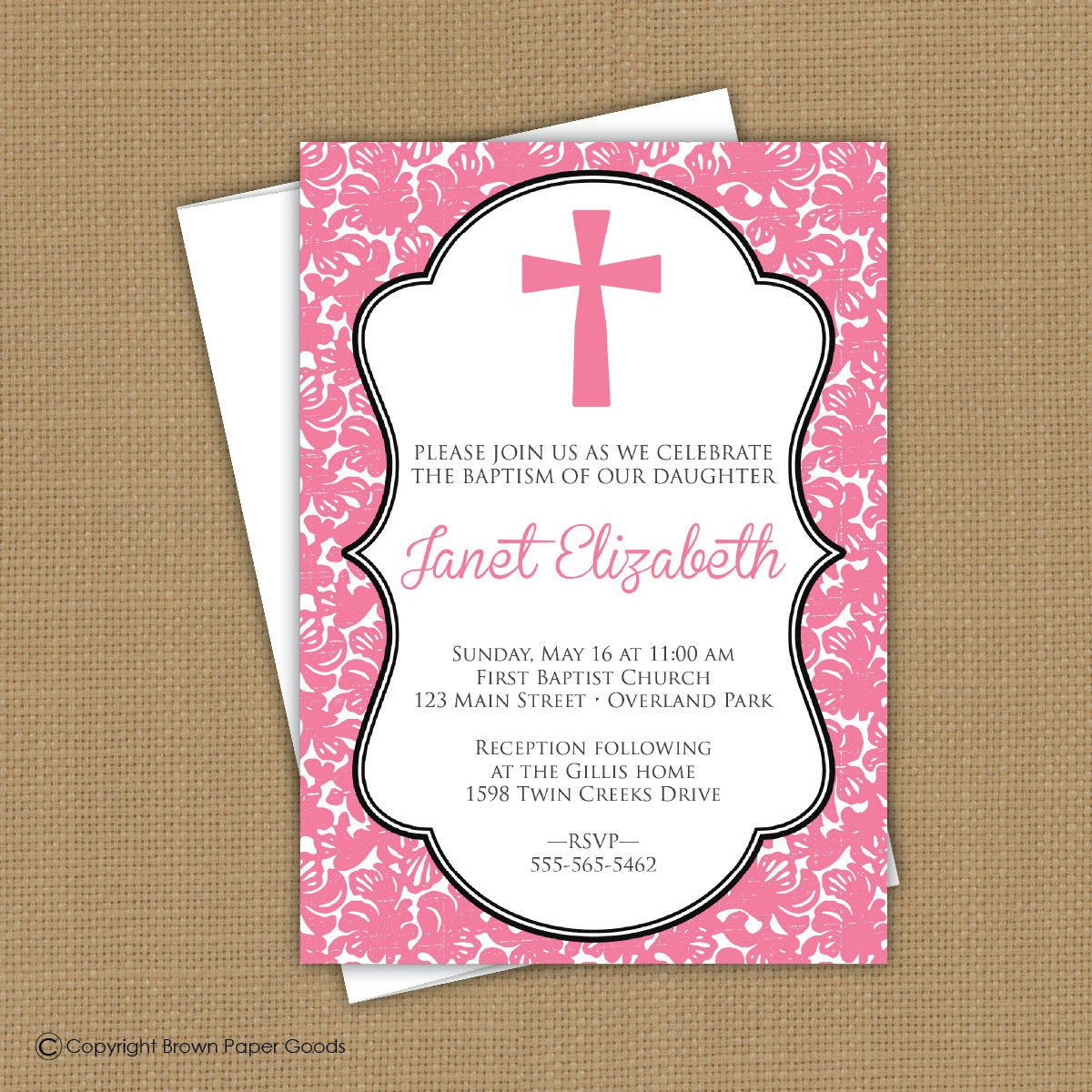 Confirmation Invitation Ideas