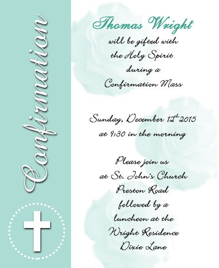 Confirmation Invitation Wording Ideas