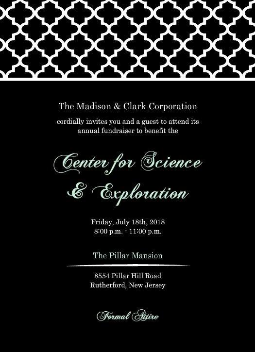 Corporate Event Invitation Samples