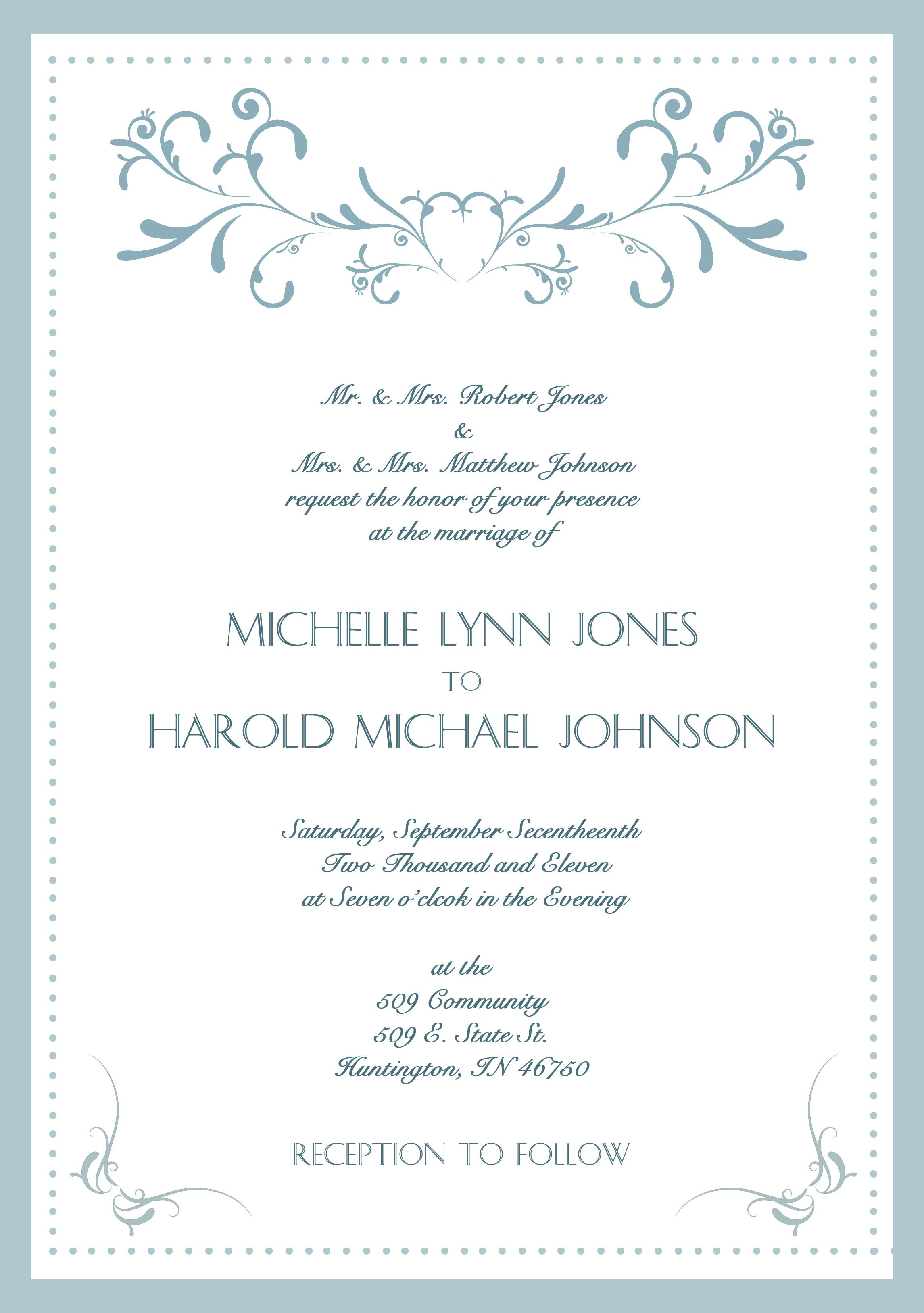 Professional Event Invitation Templates – Professional Invitation Template
