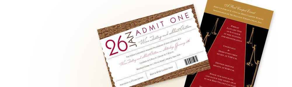 Corporate Event Invitation Wording