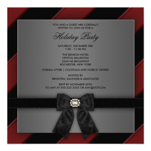 business holiday party invitation templates. Black Bedroom Furniture Sets. Home Design Ideas