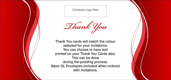 Corporate Invitation Cards