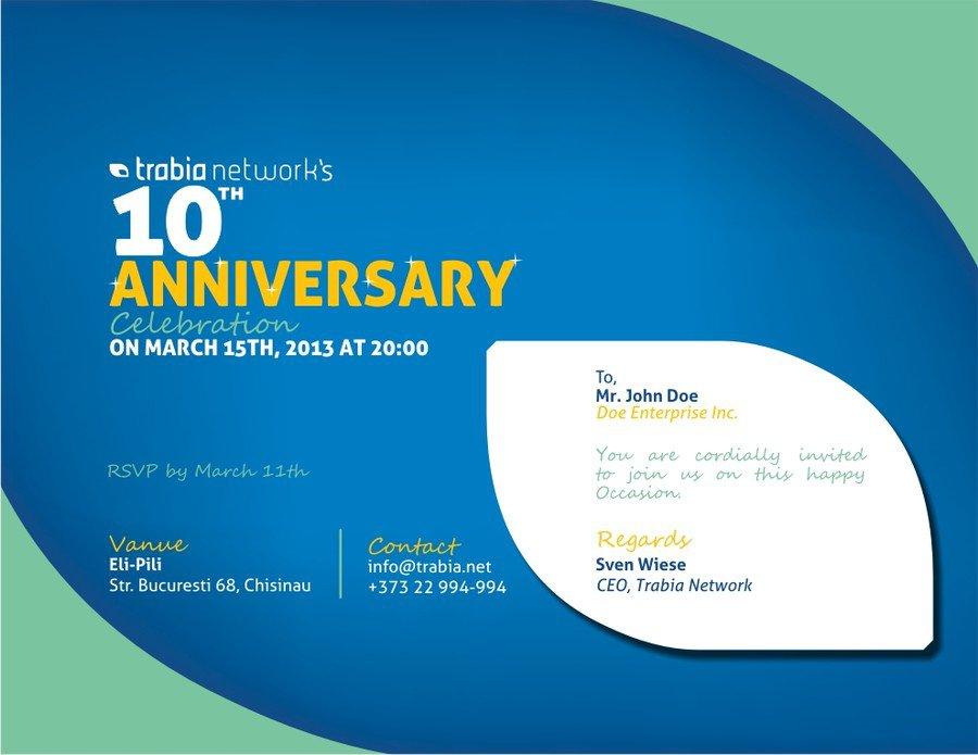 Corporate Invitation Designs