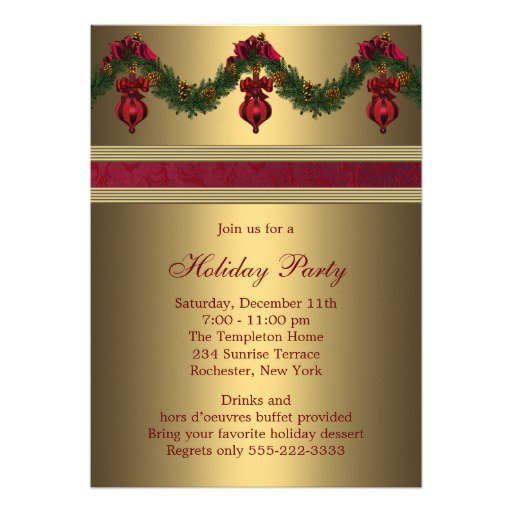 Corporate Party Invitation Wording Examples