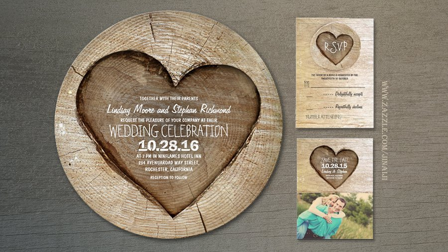 Country Wedding Invitations Ideas