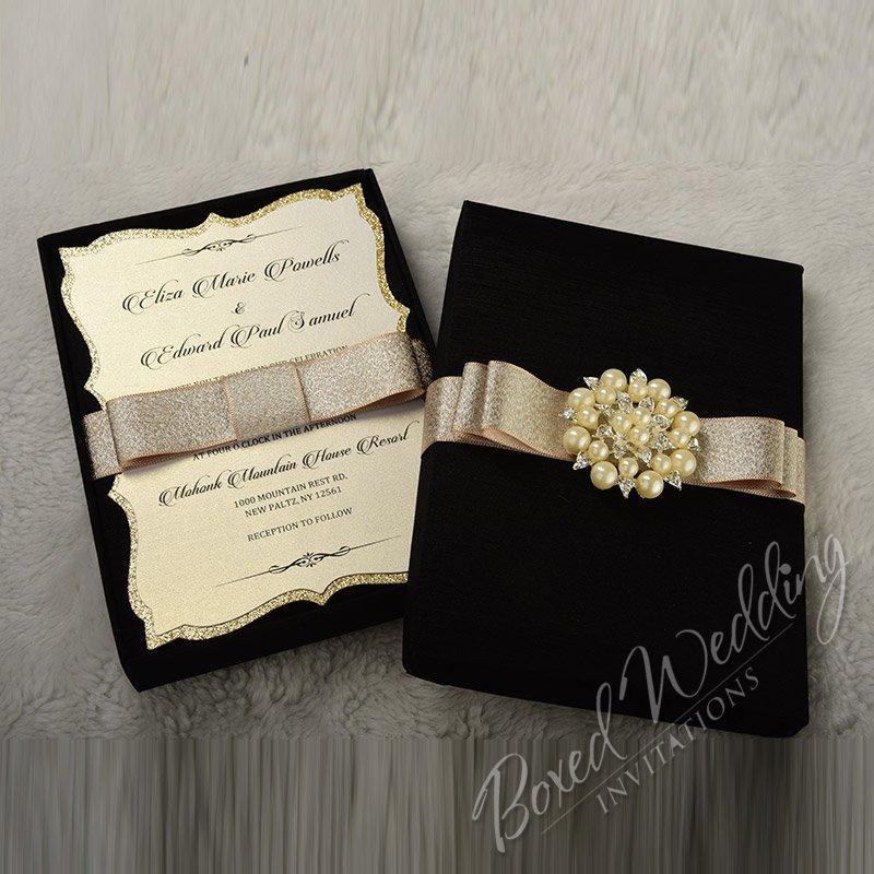 Couture Wedding Invitation Boxes