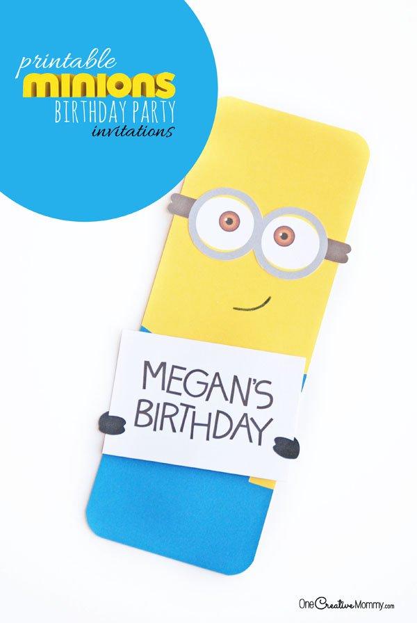 Creative Birthday Invitations Ideas