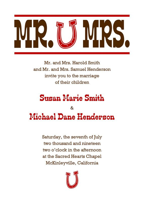 Custom Digital Wedding Invitations