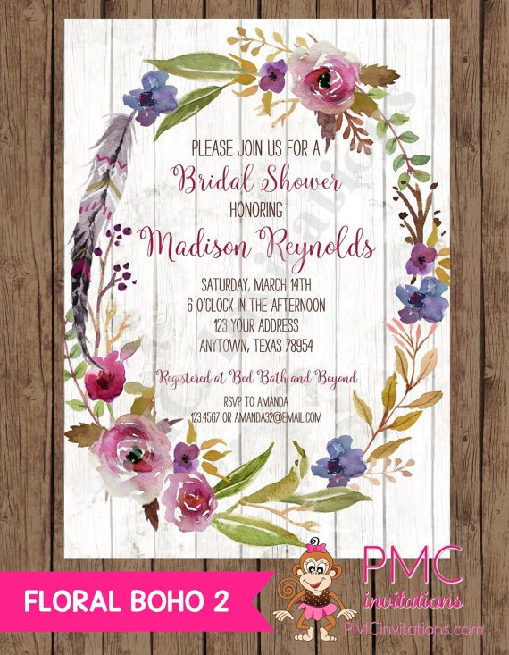 Custom Printed Invitations Online