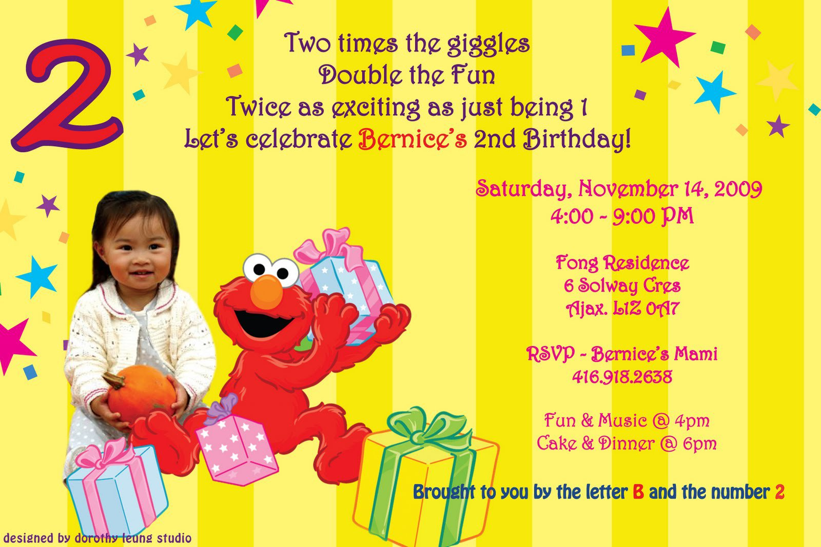 Cute 2nd Birthday Sayings For Invitations
