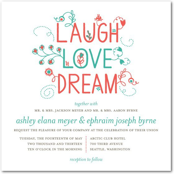 Cute Sayings For Wedding Invitations