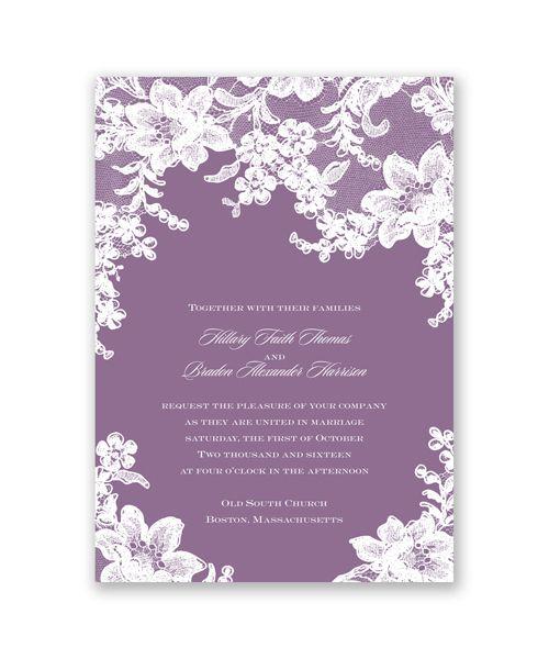David Bridal Wedding Invitations