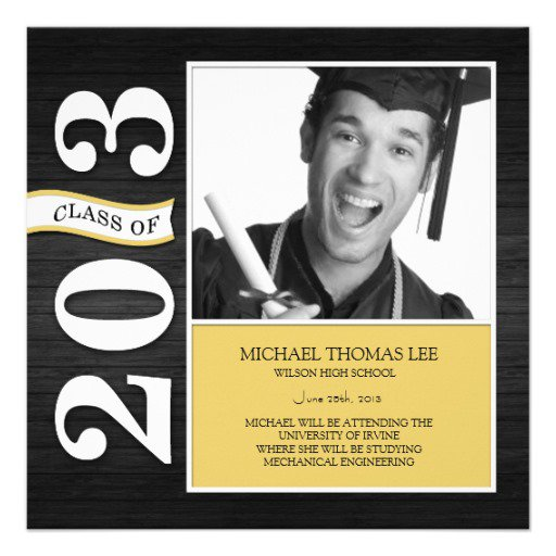 Design My Own Graduation Announcements For Free