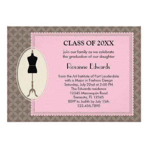 Design My Own Graduation Invitations