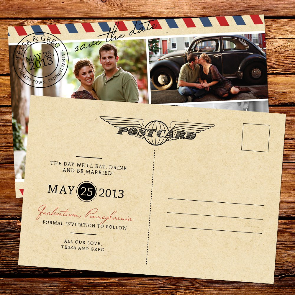 Design Postcard Invitations Online